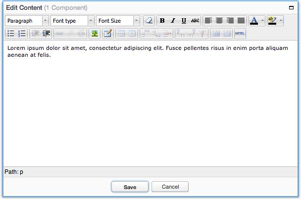 Rich text editor comparison essay